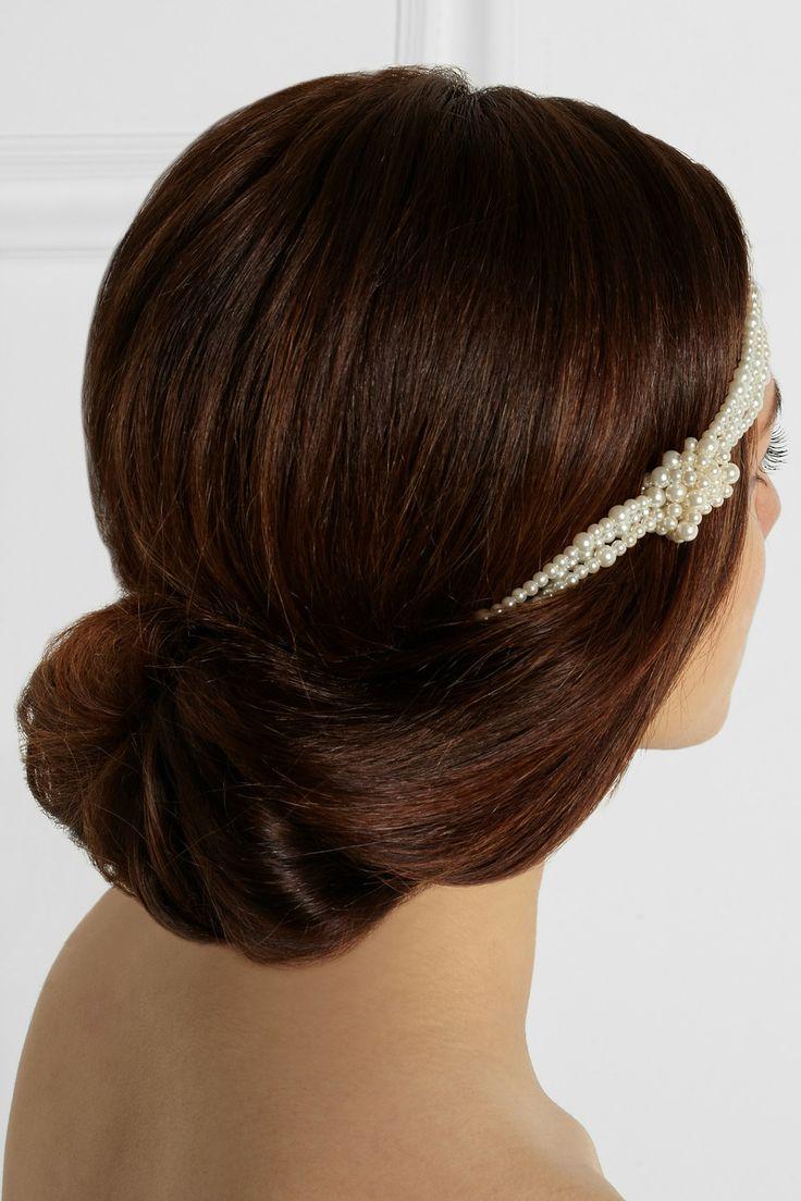 17 best ideas about chignon headband on pinterest - Chignon avec headband ...