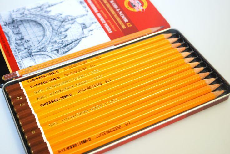 Sada grafitových tužek pro různé druhy vašich kreseb