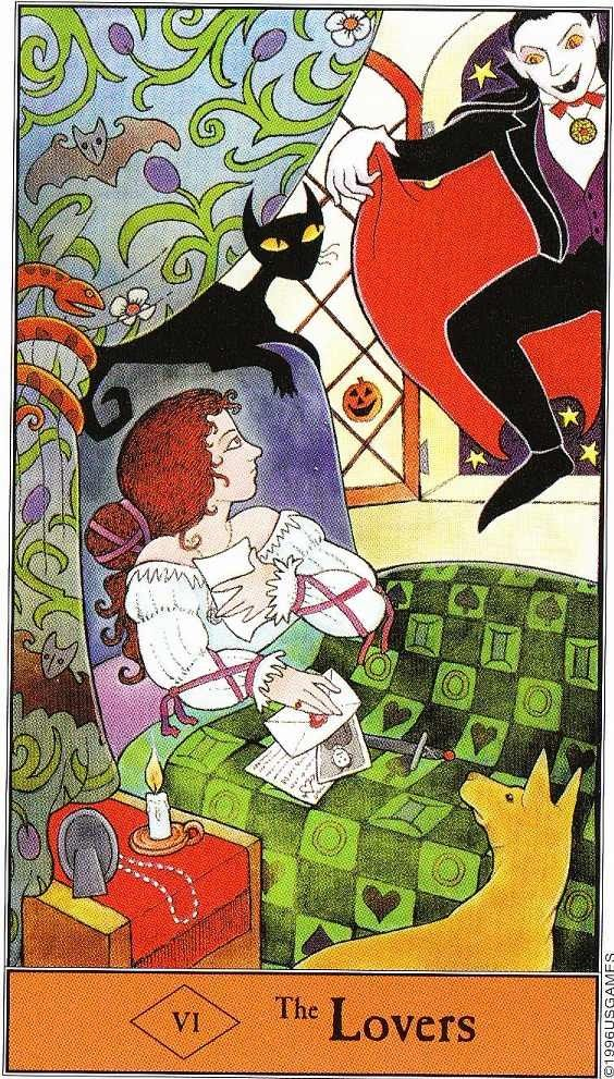 42 Best Images About Tarot 6 The Lovers On Pinterest