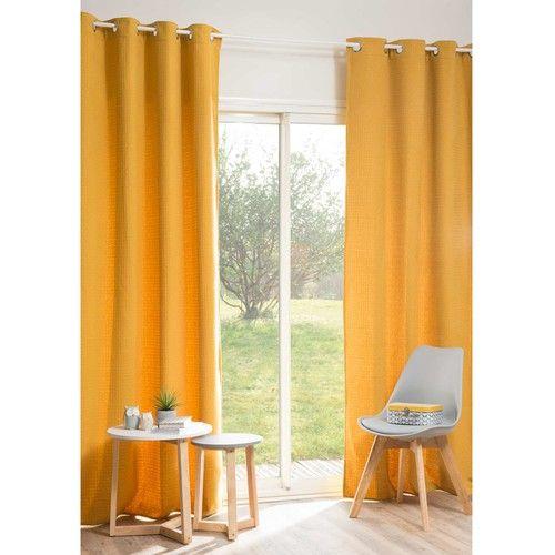 Les 17 meilleures id es de la cat gorie rideaux jaunes sur pinterest rideau - Rideau jaune moutarde ...