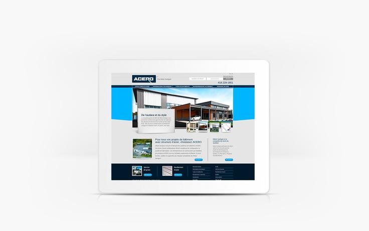 Métal Sartigan | www.metalsartigan.com | Site Web | Team Marketing • Web • Design