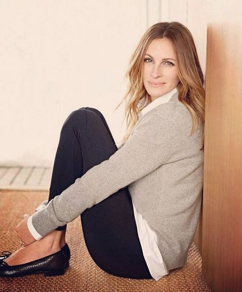 Julia Roberts - love her style