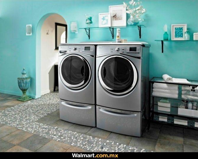 Revitaliza tu ropa con esta pareja de lavadora y secadora Whirlpool de 17 kg. El envío es gratis a todo México y puedes pagar hasta a 18 meses sin intereses.  Walmart.com.mx, Hacemos Clic!