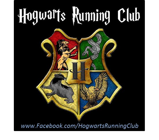 Hogwarts Virtual Running Club.That's right. Run races, donate to charity, get Harry Potter themed medals.