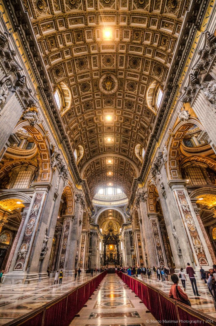 St Peter's Basilica, Rome, Italy