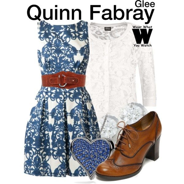 Inspired by Dianna Agron as Quinn Fabray on Glee.