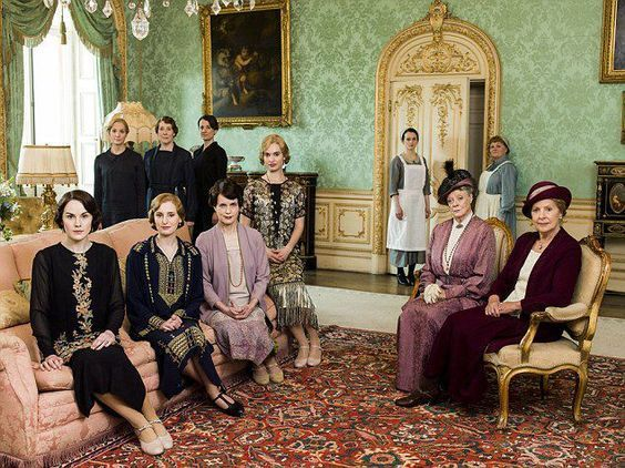 Downton Abbey: Finales and Favorite Rooms - The Drawing Room - Linda Merrill