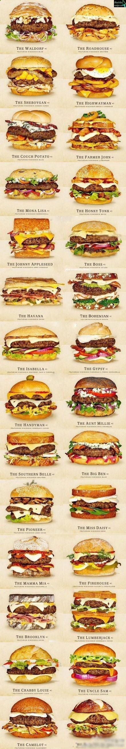 ITS GRILL SEASON! 30 Awesome Cheeseburger Ideas!