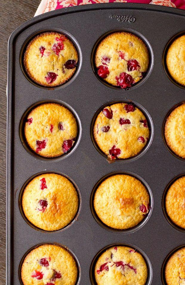 Cranberry Corn Muffins | The Gourmet Gourmand