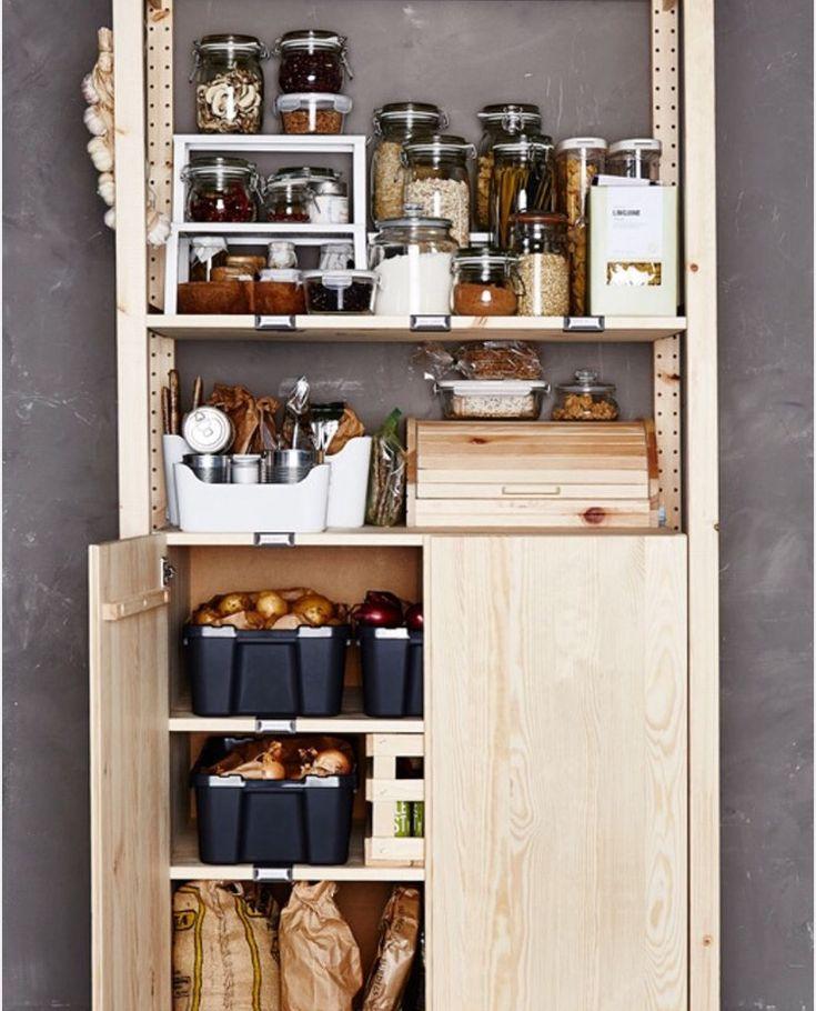 824 best ikea   ivar images on Pinterest Kitchen ideas, Kitchens - reglage porte placard ikea