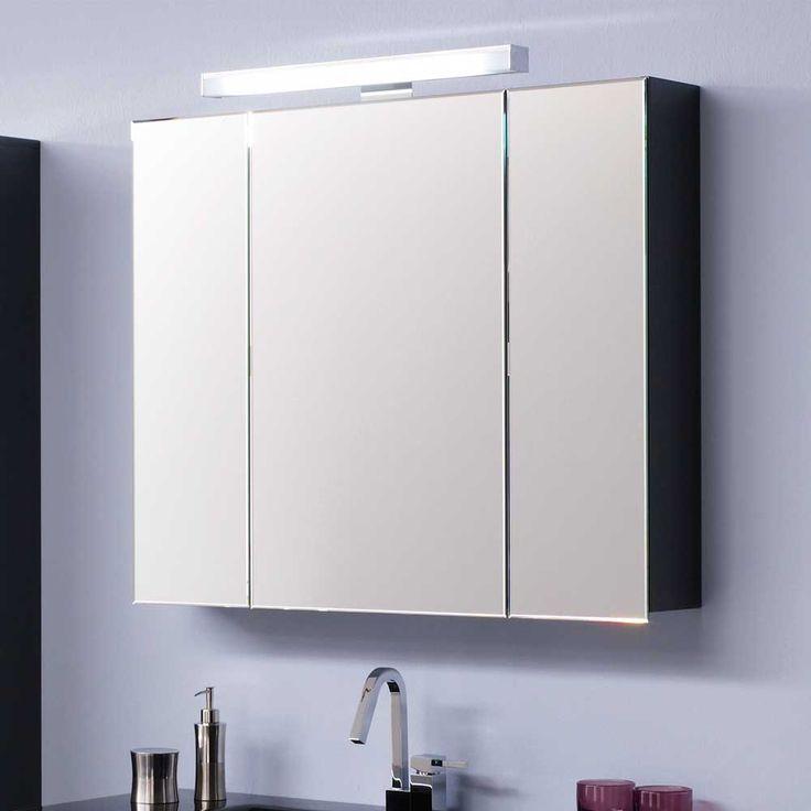 Badezimmer Spiegelschrank mit Beleuchtung 80 cm breit Jetzt bestellen unter: https://moebel.ladendirekt.de/bad/badmoebel/spiegelschraenke/?uid=84a1b40a-7851-55e6-a1fb-7d3e94cf53ba&utm_source=pinterest&utm_medium=pin&utm_campaign=boards #badezimmerkommode #bad #beistellschrank #spiegelschrank #spiegelschraenke #badschrank #badmoebel #badspiegelschrank #spiegel #badeschrank #lichtspiegelschrank #badezimmerspiegelschrank #badezimmer