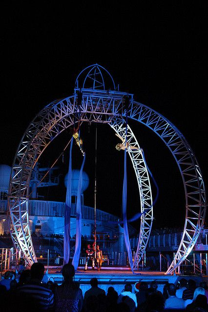 #AustraliaDayOnboard  Pacific Jewel Cirque