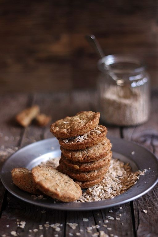 MIEL & RICOTTA: Biscotti alla crusca