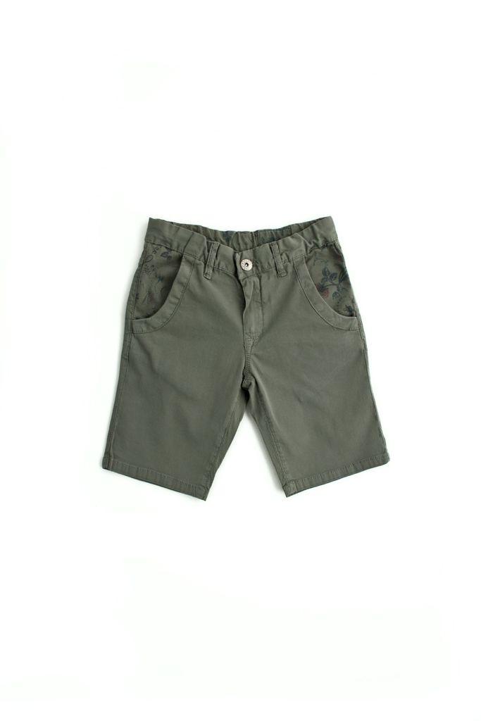 short  SP1NE 3130722 verde militare