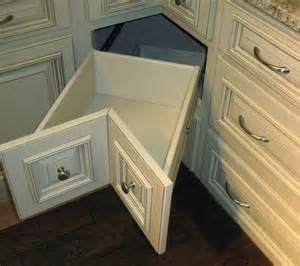 alternative to a lazy susan cabinet