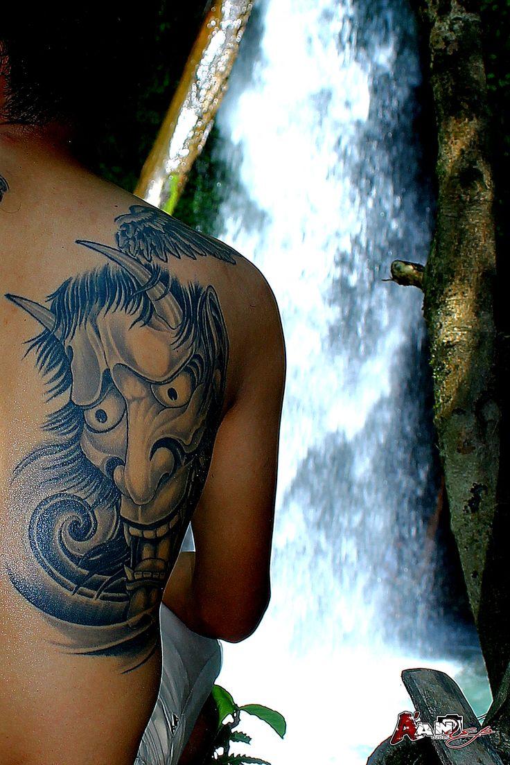#tattoo #sumatera #oni #hannya