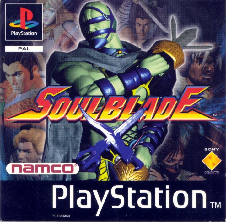 37 best ps1 favorite titles images on pinterest videogames retro soulblade souledgd psx front cover pal fandeluxe Gallery