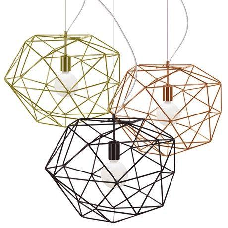 Trendy lampe som gir et heftig skyggespill på veggen!