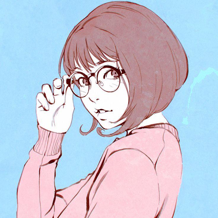 "kr0npr1nz: ""Use Glasses! https://www.patreon.com/creation?hid=2267669 Japanese magazine photostudy! """