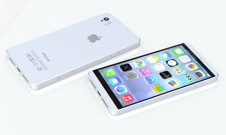 4.7 inch iPhone Concept by Jason Chen Dimension: 126 x 63 x 7.2 mm