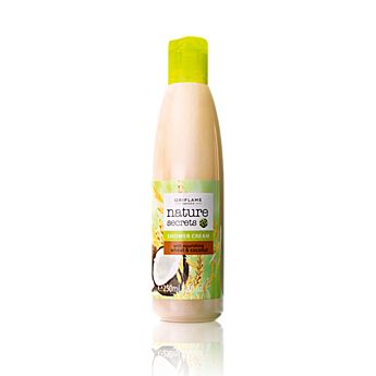 Nature Secrets Shower Cream with Nourishing Wheat & Coconut    Vyživující sprchový gel s pšenicí a kokosem Nature Secrets