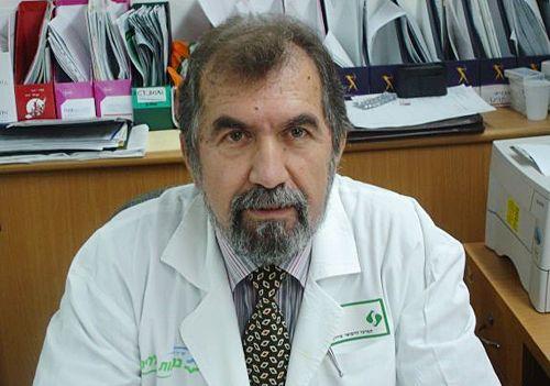 Глава Ассоциации онкологов Израиля Вилмош Мермерштайн