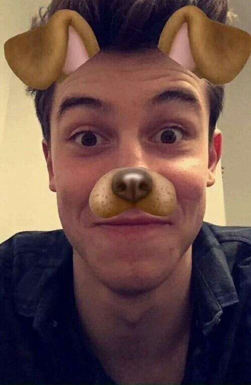 Shawn Mendes via Snapchat