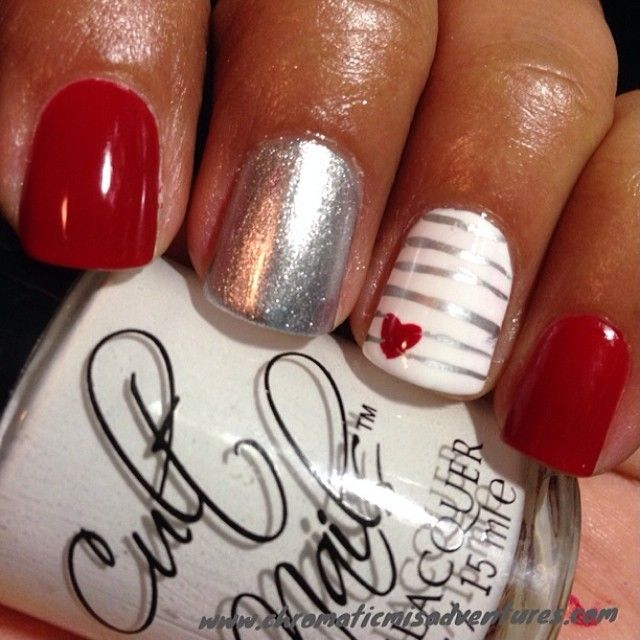 .Valentine's Day Nails