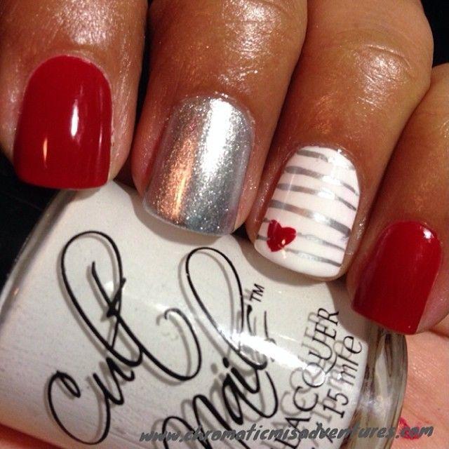 .Valentine's Day Nails