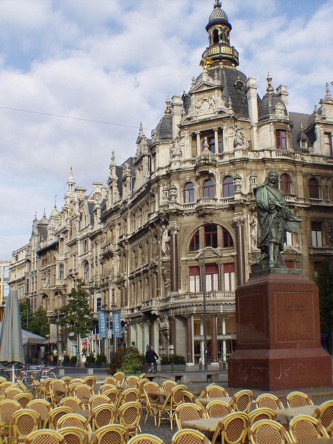 Leysstraat, Antwerp, Belgium