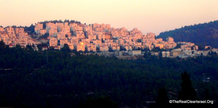 Jerusalem of Gold Hills, View from Motza Illit, Jerusalem