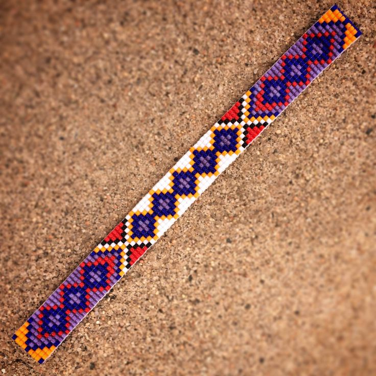 Friendship Bead Loom Bracelet Bohemian Boho Artisanal Jewelry Indian Western Beaded Turquoise Red Yellow Orange Bright Colorful Tribal by PuebloAndCo on Etsy https://www.etsy.com/listing/223047450/friendship-bead-loom-bracelet-bohemian