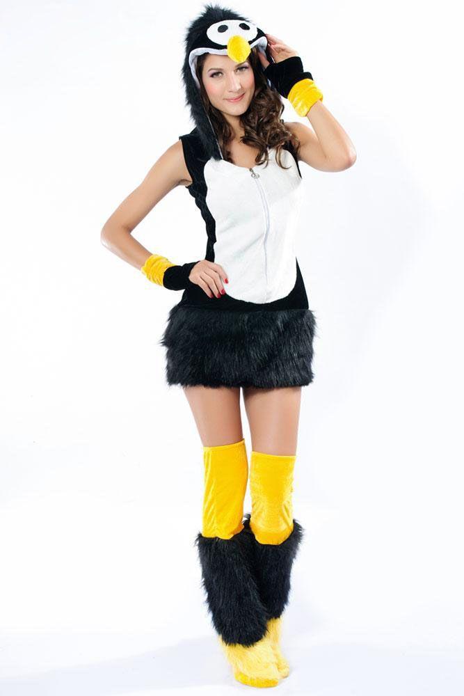 10 Unique Animal Halloween Costumes (Penguin)