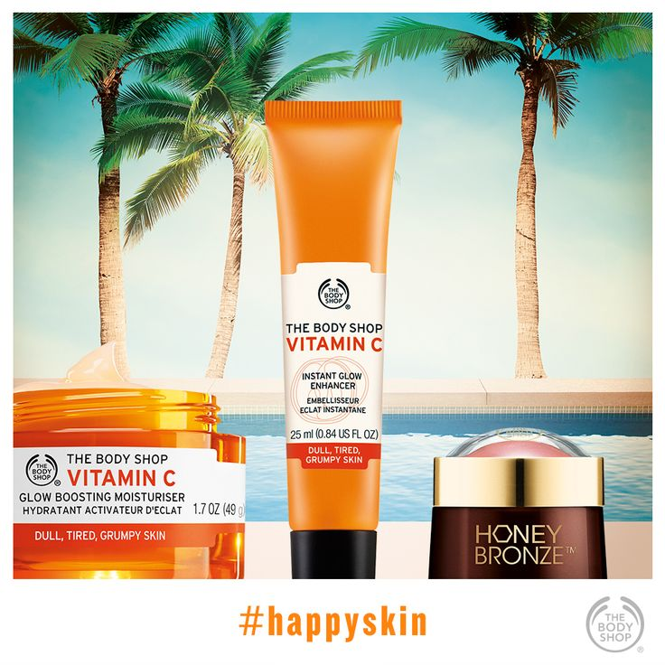 Ding, dong! It's your morning wake-up call for glowing, #happyskin. #vitaminc #healthyglow #bottledsunshine  http://www.thebodyshop.co.za/store/list/category/vitamin-c