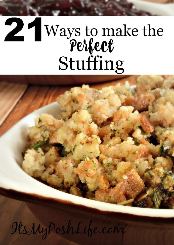 21 Ways to Make the Perfect Stuffing