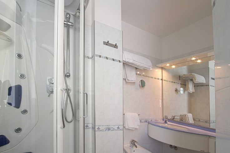 Private bathroom in each room