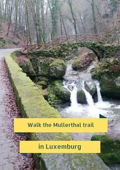 Walk the Mullerthal trail in Luxemburg - Map of Joy