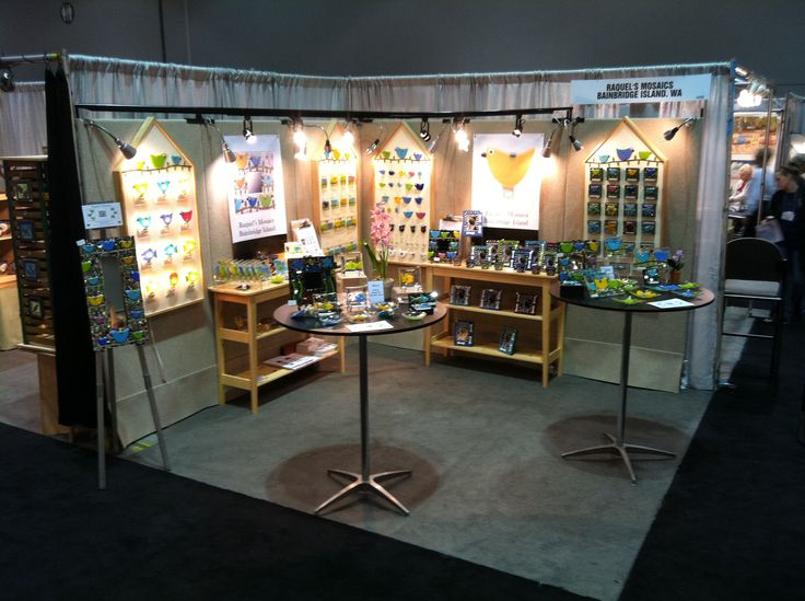 Jewelry Exhibition Booth Design : The buyer s market said raquel mosaics booth display