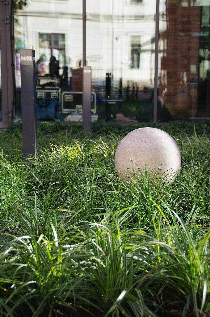 Sonic landscape, Architettura Sonora's travertine Sphere