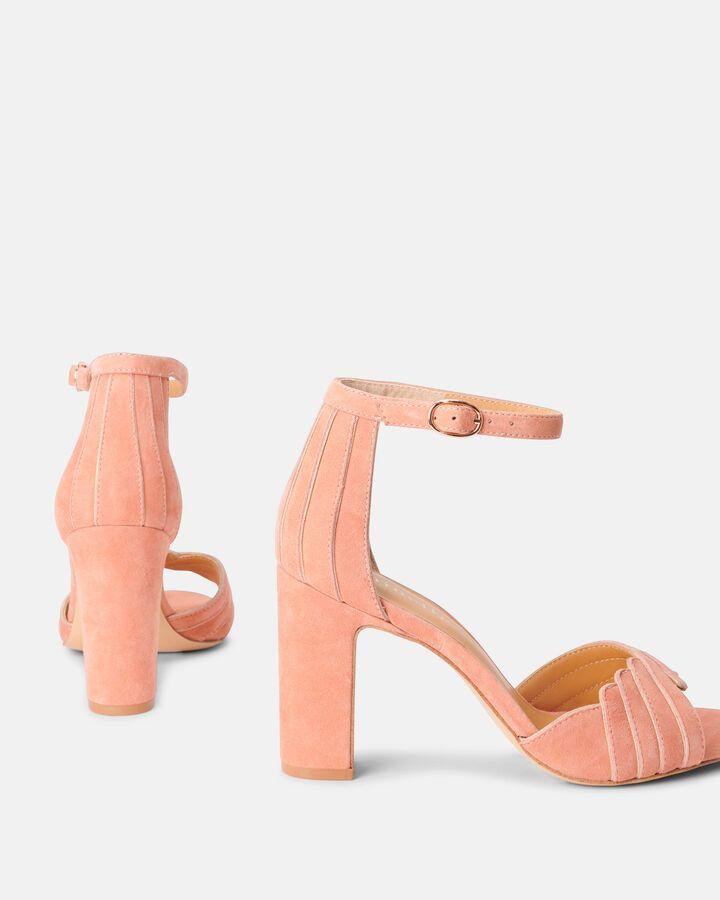 Sandale à talon Barbel beige Chaussures CHEVRE VELOURS
