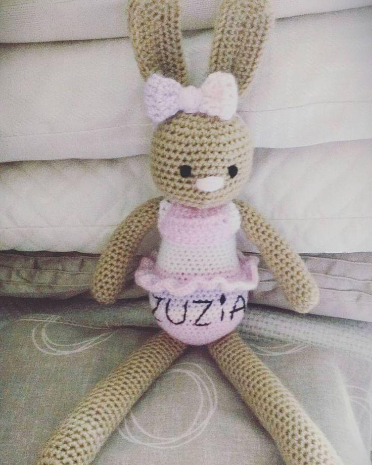 crochet rabbit girl ZUZIA :)