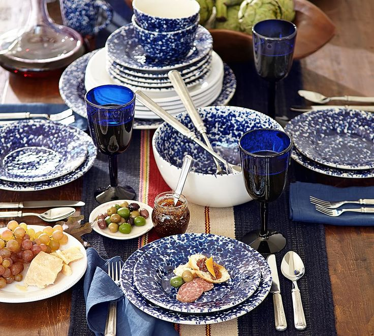 Classic white dinnerware always looks chic and can be accessorized & 18 best PB: Dinnerware images on Pinterest | Salad plates ...