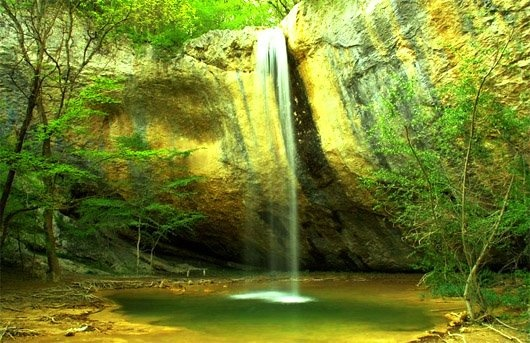 Ukraina Krym wodospad