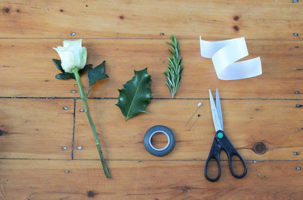 DIY Boutonniere - DIY Buttonhole for the Groom - Easy Wedding DIY