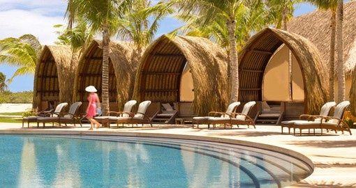 Private Cabanas at the Four Seasons in Bora Bora | French Poynesia