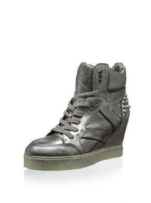 50% OFF Ash Women's Billie Wedge Sneaker (Piombo)
