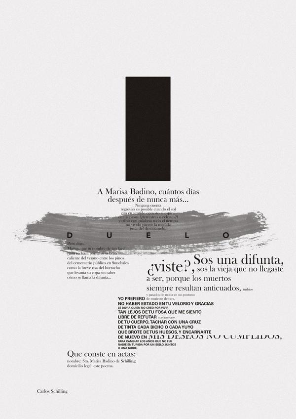 Verso Blanco by Horacio Lorente, via Behance