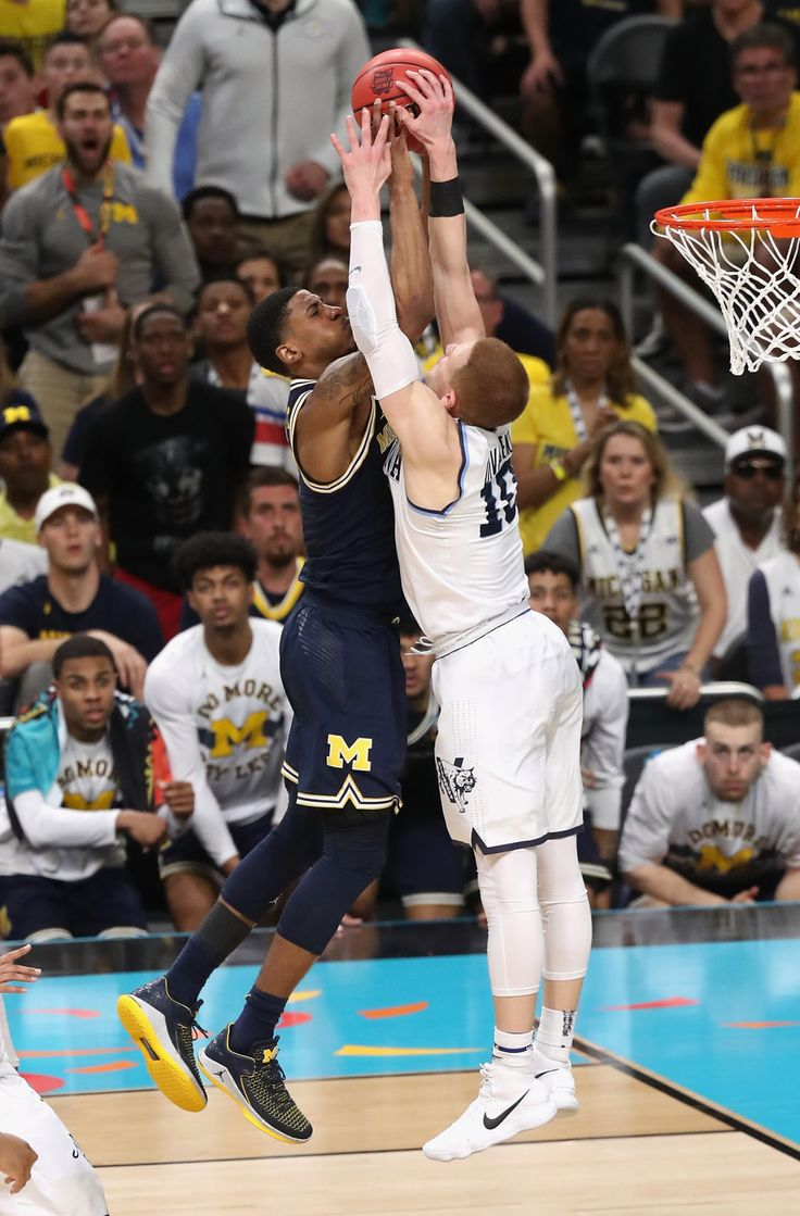 Donte DiVincenzo's monster block became the best photo