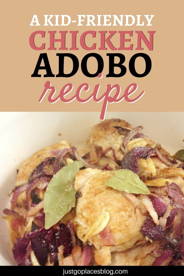 Chicken Adobo is by definition THE Filipino comfort food