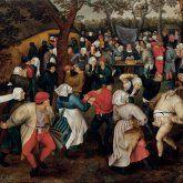 Venaria Reale, Capolavori dell'arte fiamminga - Pieter Brueghel il Giovane. Danza nuziale all'aperto. 1610 ca